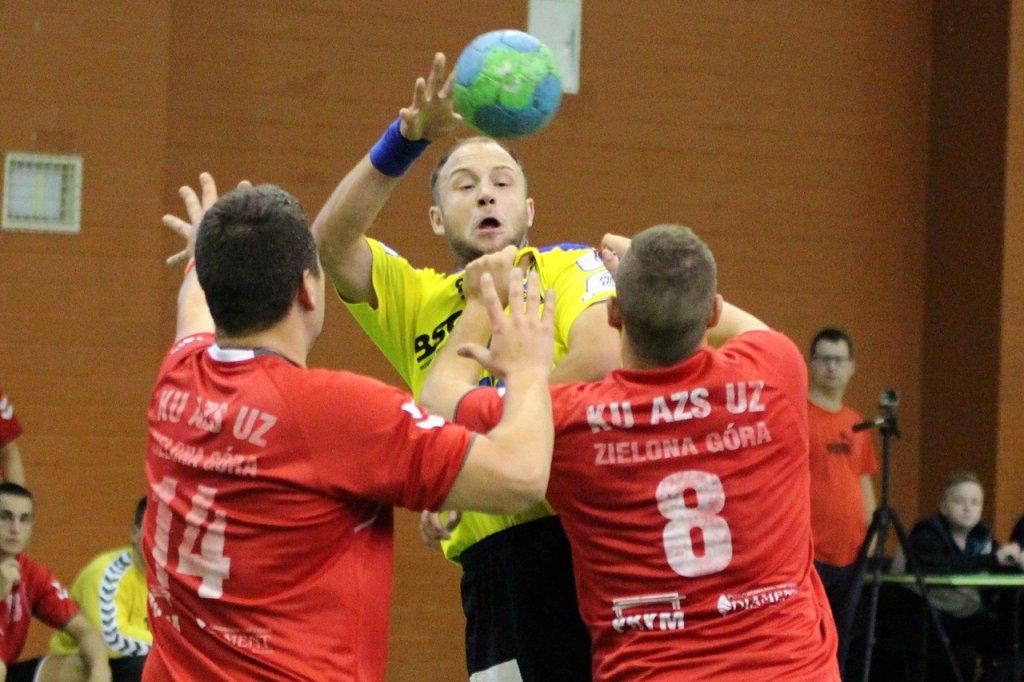 Towarzyski mecz piłkarzy ręcznych: Stal Gorzów - AZS UZ Zielona Góra 26:32 (13:16)