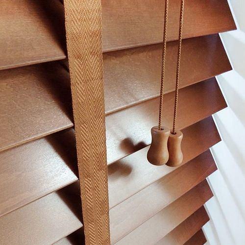 Żaluzje drewniane