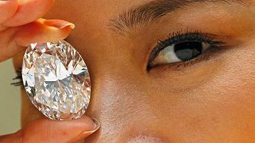 Najdroższy diament na świecie o wadze 118 karatów