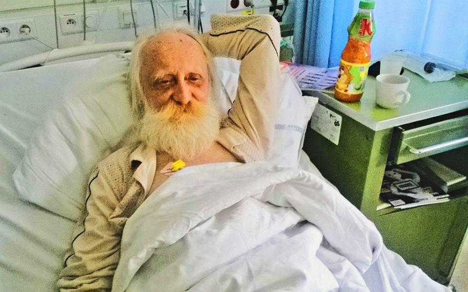 Wiktor Żwikiewicz w szpitalu