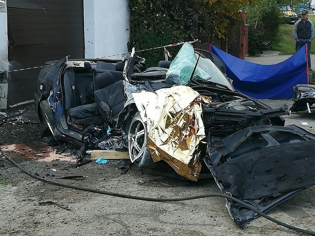 Wypadek w Piotrowie-Gułaczowie, 7.10.2018