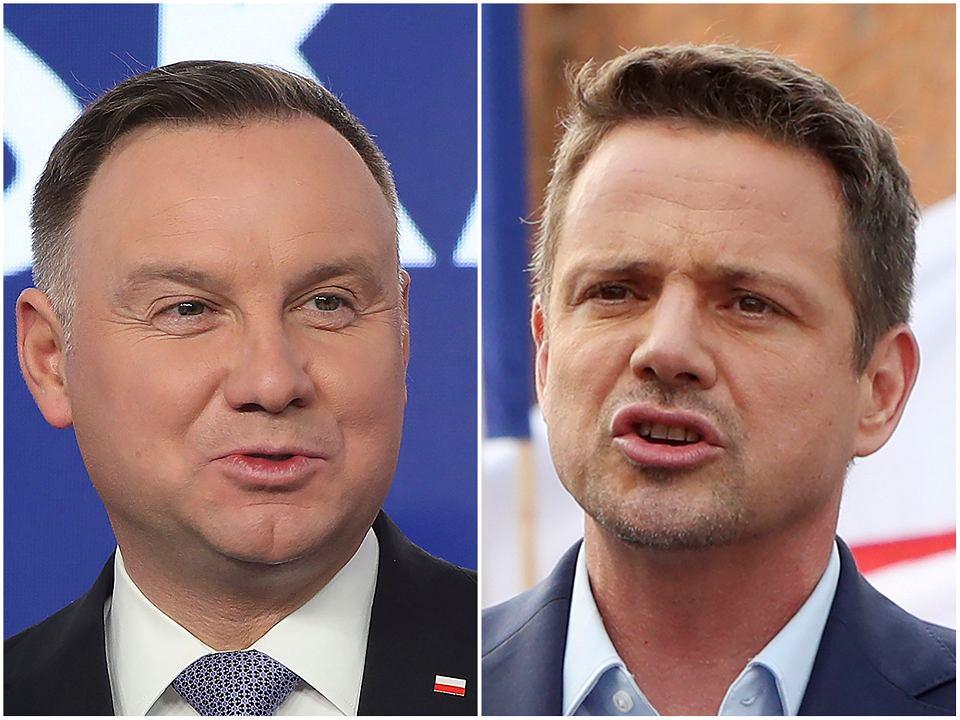 Andrzej Duda i Rafał Trzaskowski - druga tura wyborów prezydenckich 2020