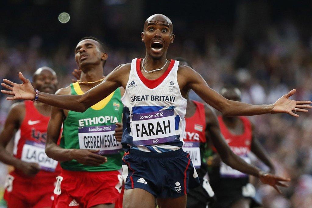 Mo Farah zdobywa drugi złoty medal olimpijski, Londyn 2012
