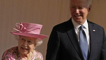 królowa Elżbieta II, Joe Biden