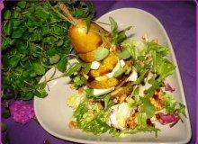 Sałatka z gruszką - ugotuj