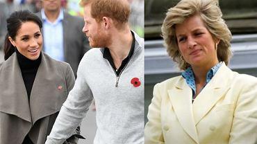 Meghan Markle, książę Harry, księżna Diana