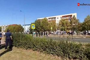 Marsz Równości po raz pierwszy w Gorzowie Wielkopolskim. Na trasie przeciwnicy w strojach do dezynsekcji