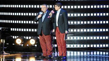 Wojciech Mann z synem prowadzą koncert w Opolu