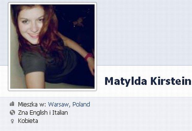 Matylda Kirstein, Ewa Sałacka córka