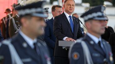Uroczystość przyjęcia Zwierzchnictwa Prezydenta RP nad Siłami Zbrojnymi RP przez prezydenta Andrzeja Dudę