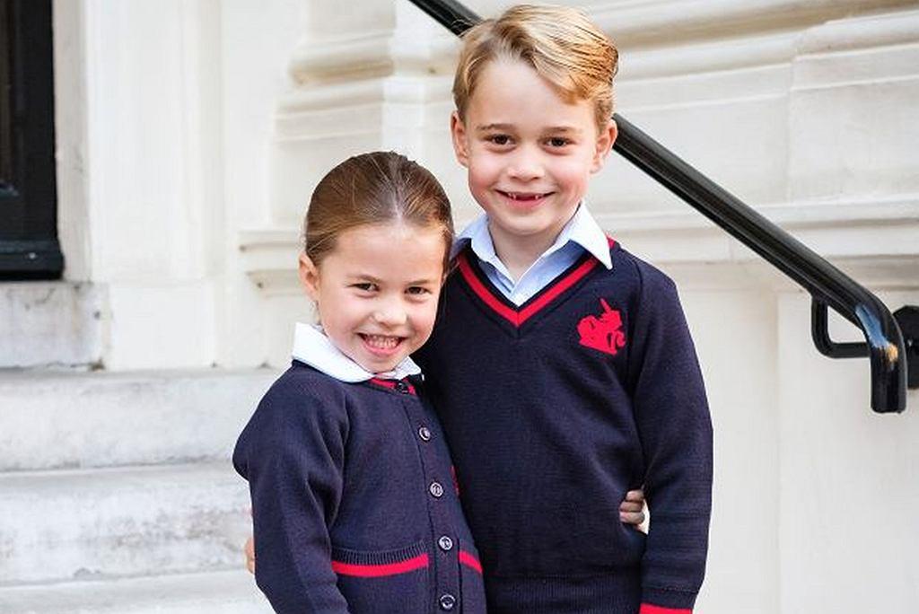 Relacja Księcia George i księżniczki Charlotte przypomina tą, jaką mieli książę William i książę Harry w młodości