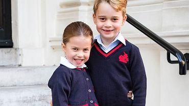 Książę William zabrał George'a i Charlotte na otwarcie półmaratonu. Ekspert przeanalizował zachowanie dzieci