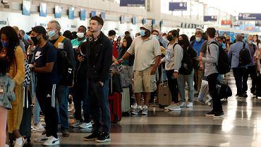 Chaos na lotniskach - zdjęcie ilustracyjne