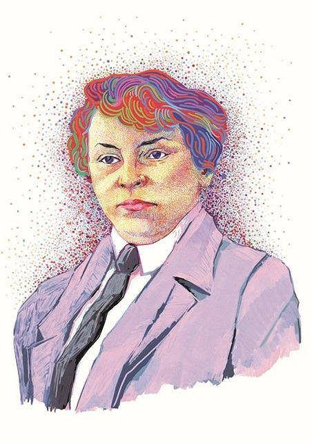 Justyna Budzinska-Tylicka. Wystawa  'Nasze bojownice. 100-lecie praw wyborczych Polek' / BEATA SOSNOWSKA