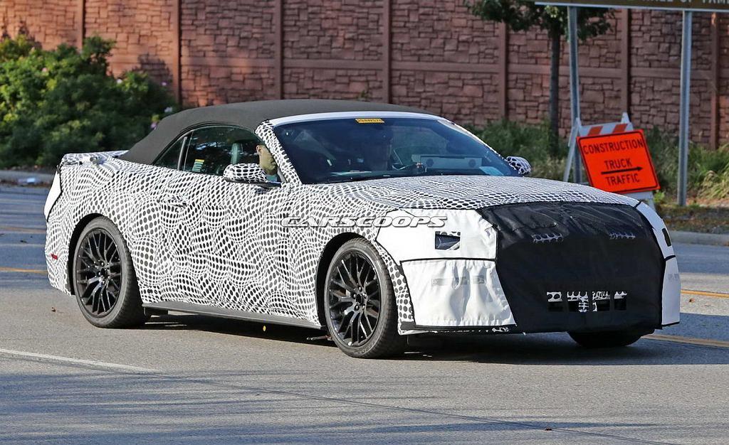 Prototyp Forda Mustanga 2018