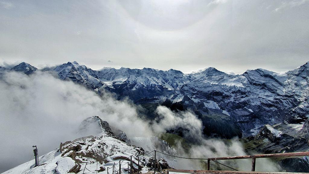 Widok na masyw Jungfrau