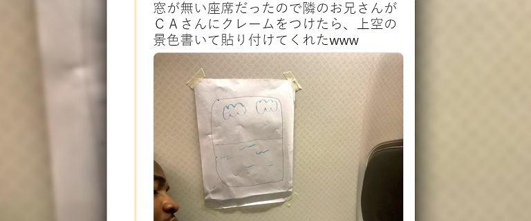 Pasażer zażądał miejsca przy oknie. Stewardessa w zabawny sposób wybrnęła z sytuacji