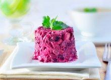 Sałatka majonezowa z szynką i burakami - ugotuj