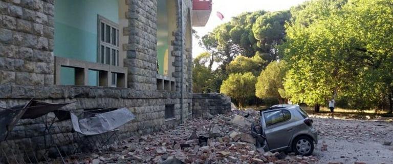 Silne trzęsienie ziemi w Albanii. Wstrząsy były odczuwalne w całym kraju