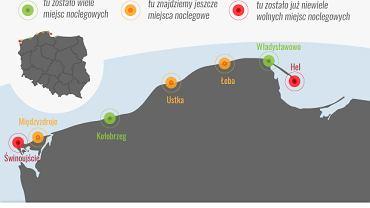 Wielu Polaków zdecydowało się spędzić w tym roku wakacje nad Morzem Bałtyckim