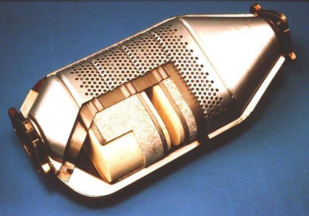 Reaktor katalityczny zwany popularnie katalizatorem