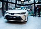 Toyota Corolla Sedan i Touring Sports pokazane w Warszawie