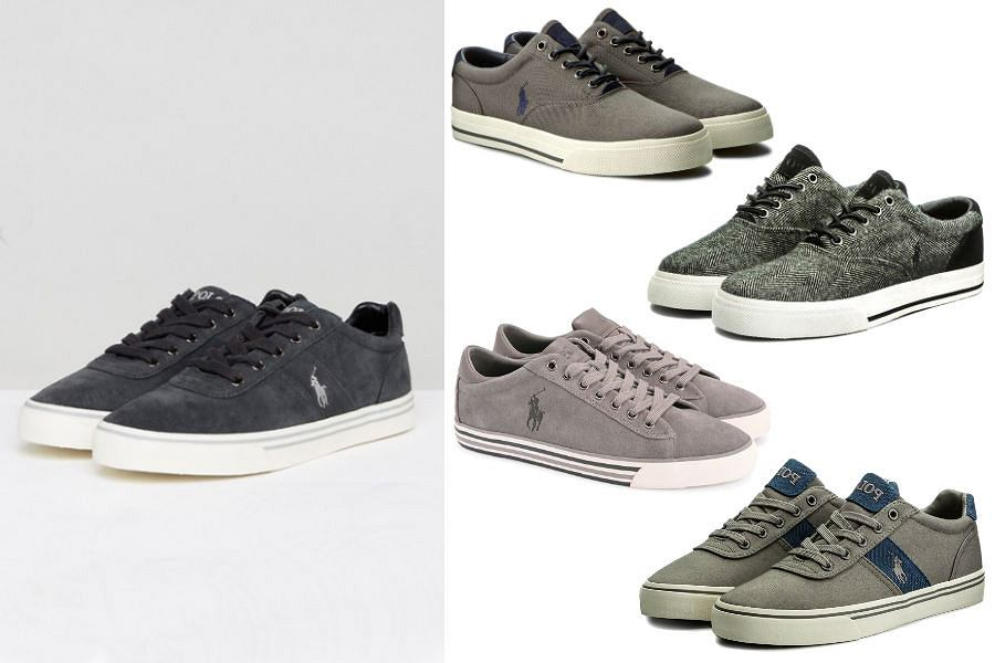 Kolaż / Sneakersy Ralph Lauren / Materiały partnerów