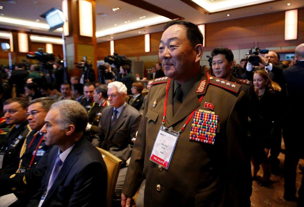 Hyon Yong Chol, stracony minister obrony Korei Północnej