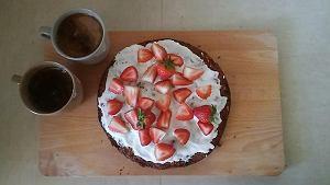Ciasto bakaliowe-marchewkowe
