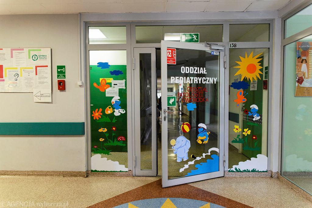 Oddział pediatryczny szpitala w Świętcochłowicach