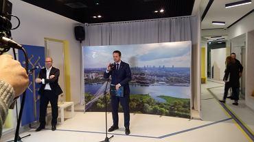 Rafał Trzaskowski mówi o priorytetach na najbliższy rok