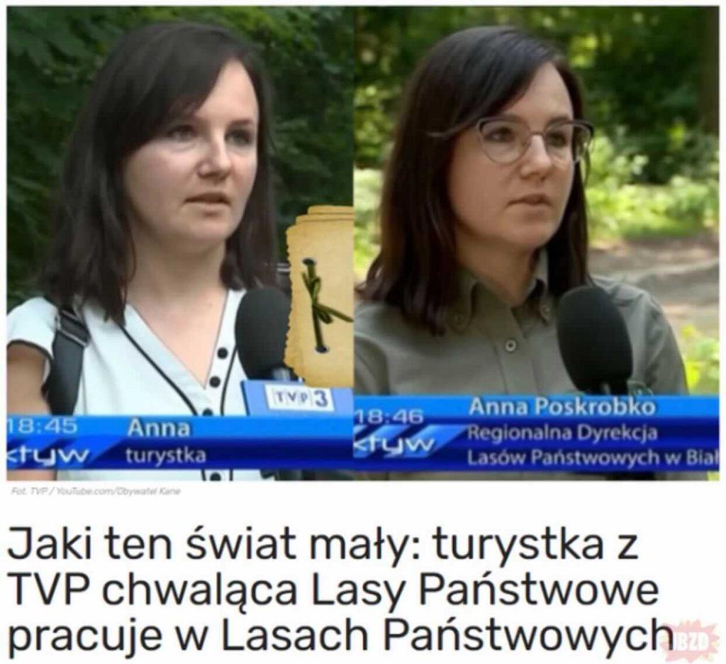 Wpadka w TVP