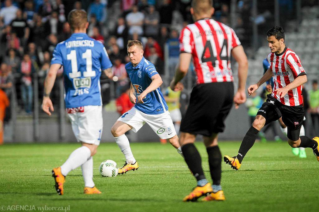 Cracovia - Lech Poznań 2:0. Maciej Gajos