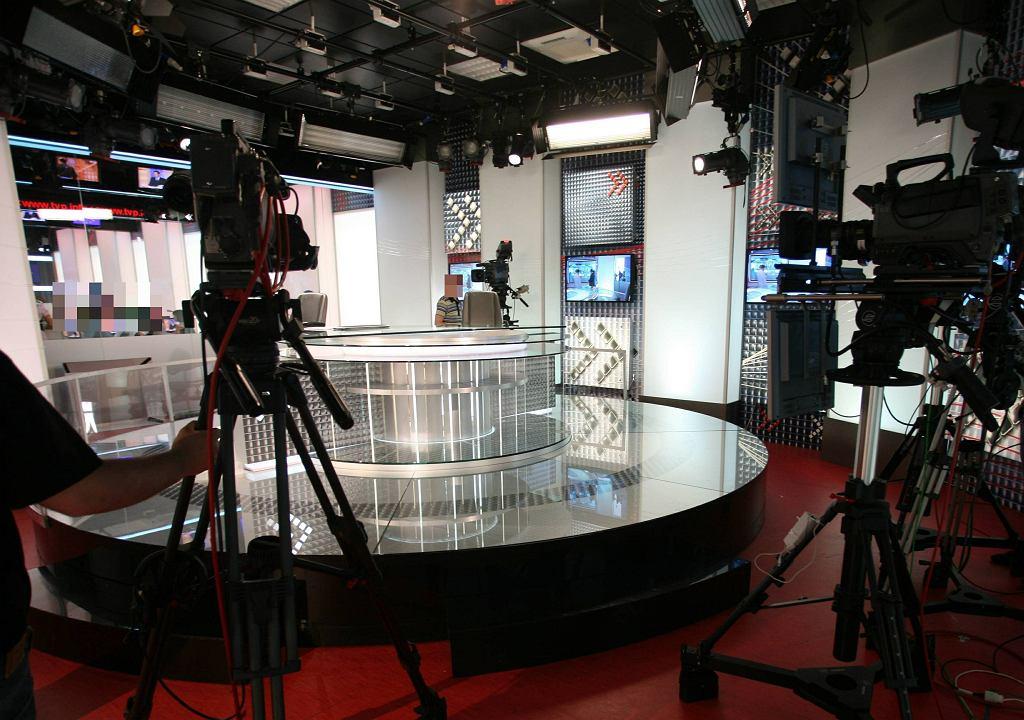 Studio TVP. Zdjęcie ilustracyjne