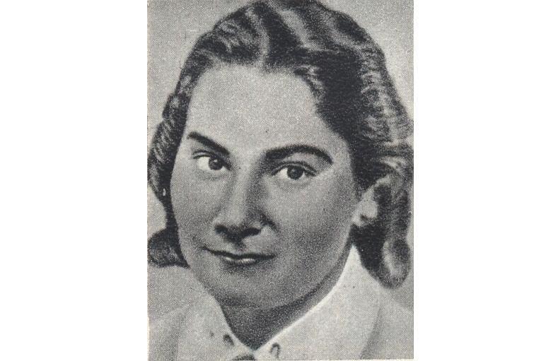 Wanda Zieleńczyk (1920-43), kuzynka Baczyńskiego, zamordowana przez gestapo wraz z siostrą Jadwigą i rodzicami