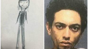 Dzięki rysunkowi 11-latki, policja aresztowała seryjnego włamywacza