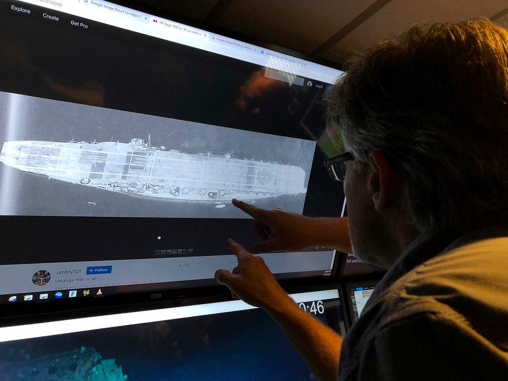 Na dnie Oceanu Spokojnego znaleziono wraki dwóch japońskich lotniskowców, zatopionych w bitwie o Midway