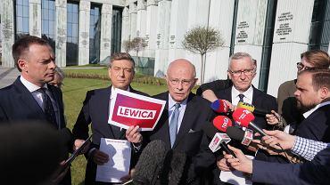 Politycy PO złożyli trzy protesty wyborcze. Marek Borowski wskazywał m.in. na błędne wykorzystanie logo Lewicy