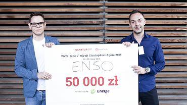 Zwycięzcy Startup Fest Agora 2015