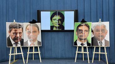 Kampania antyprzemocowa 'Twojego Ruchu' podczas konferencji prasowej przed głosowaniami w sprawie europejskiej konwencji wobec przemocy domowej w sejmie, 6 lutego 2015.