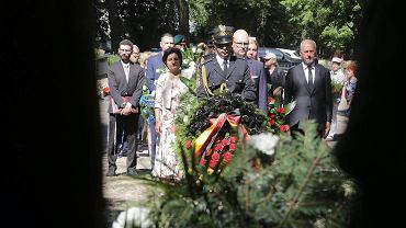 Uroczystości z okazji 74. rocznicy powstania w białostockim getcie