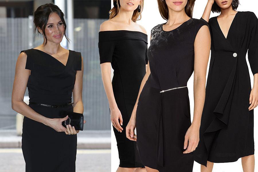 Kolaż, sukienka ołówkowa/Materiał partnera