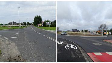 Przebudowana droga z Zalasewa do węzła S5 Kleszczewo