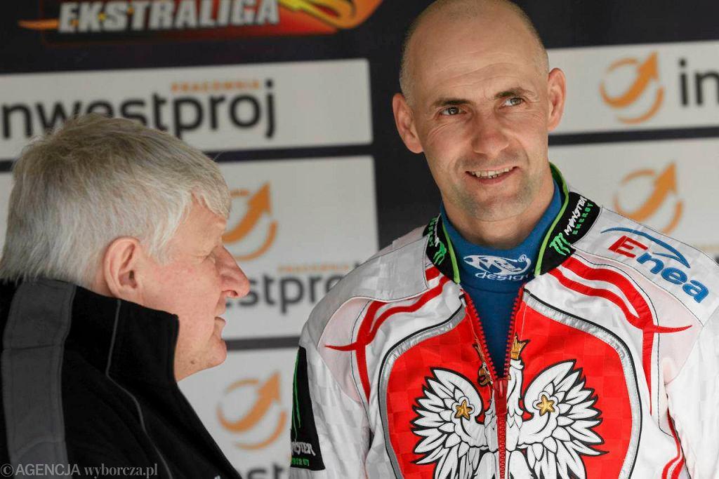Jan Ząbik i Tomasz Gollob