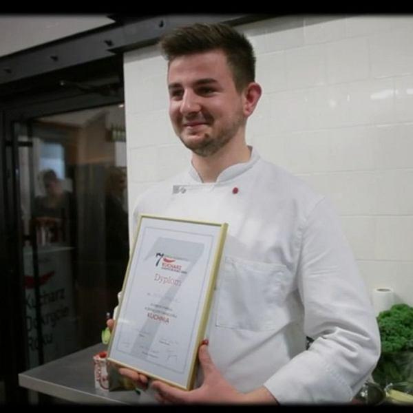 Piotr Wyrwas - zwycięzca konkursu