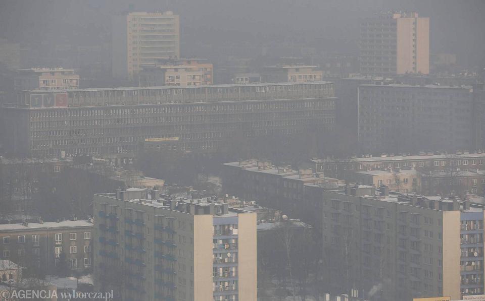 Smog w Katowicach