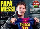 Thiago Messi wielkim piłkarzem będzie. Tak mówią geny, znaki i cała reszta