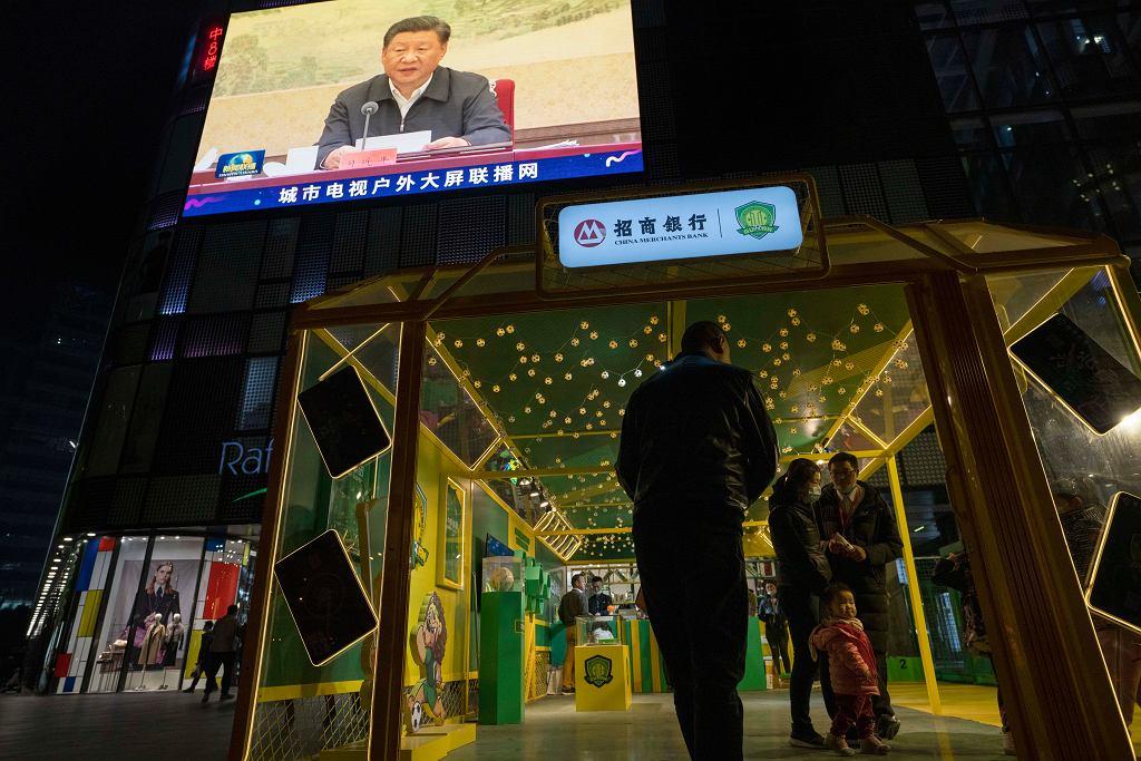 Prezydent Chin Xi Jinping.