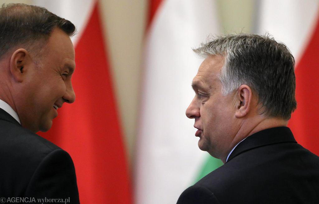 Viktor Orban i Andrzej Duda