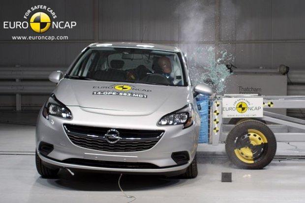Opel Corsa (fot. Euro NCAP)